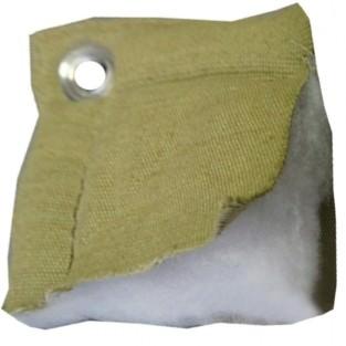 Тент утепленный (термомат) трехслойный брезент 4х7,с люверсами